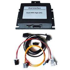 09d2-de Audi MMI 2G iPod iPhone 3G 3GS 4G 4 4S Interface inkl. AMI Steuerung