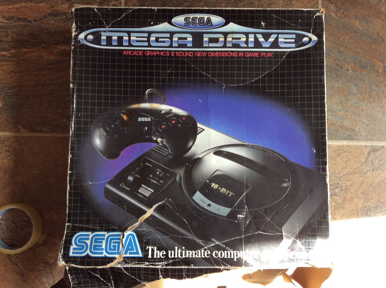 videogiochi e console: Megadrive Console! Look In The Shop!