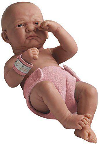 """14/"""" Berenguer La Newborn multiculturale Primo giorno GIRL BAMBOLA anatomicamente corretta"""