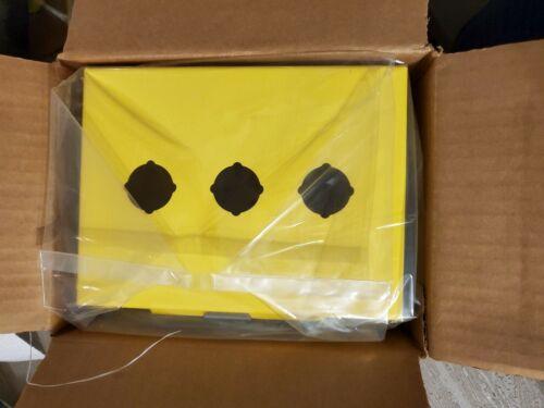 Saginaw 3 Push Button Enclosure heavy duty hinged still in original box