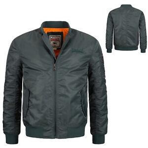 Lonsdale Olive Flight Bomber MA1 Jacket Slim-Fit Bomberjacke Poolstock