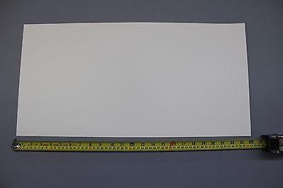 "WHITE  POLYSTYRENE PLASTIC SHEET .030/""  x 17.25/"" x 45.5/""  LIGHT DIFFUSING"