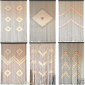 Top Quality Bamboo Beaded Door Curtains Blinds Fly Insects