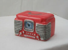 1950s Retro Radio dollhouse miniature furniture music plastic 1-12 scale T8593