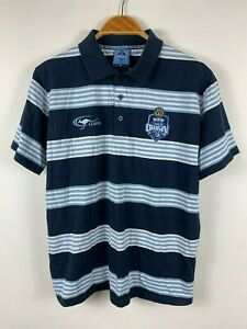 NSW-State-Of-Origin-Blues-Mens-Polo-Shirt-Size-Medium-By-Classic-Short-Sleeve-VB