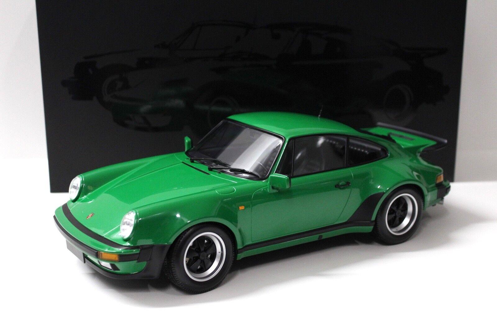 1 12 Minichamps Porsche 911 (930) Turbo 1977 vert NEW chez Premium-modelcars