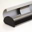 SNAP Plakat-Klemmschienen Set aus Alu DIN A3 297 mm