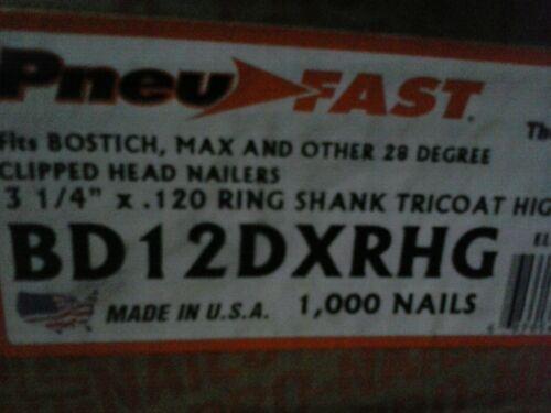 "Bostitch BCF28WW 3.25/"" 28 Degree RS Framing Nails De Poan,Craftsman Fasco ACQ"