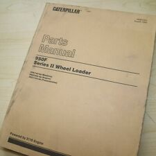 Cat Caterpillar 950f Series Ii Wheel Loader Parts Manual Book Spare Front End 2