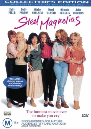 1 of 1 - Steel Magnolias (DVD)   Shirley MacLaine - Region 4 - Very Good Condition
