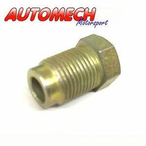 Autogem-Brake-Pipe-union-M12x1-0-for-1-4-Pipe-Pack-of-2-Plated-Finish-U23