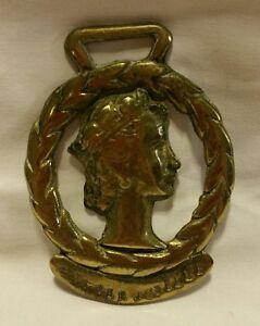 Vintage-SILVER-JUBILEE-horse-brass