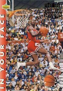 1992 Upper Deck Michael Jordan 453 Basketball Card