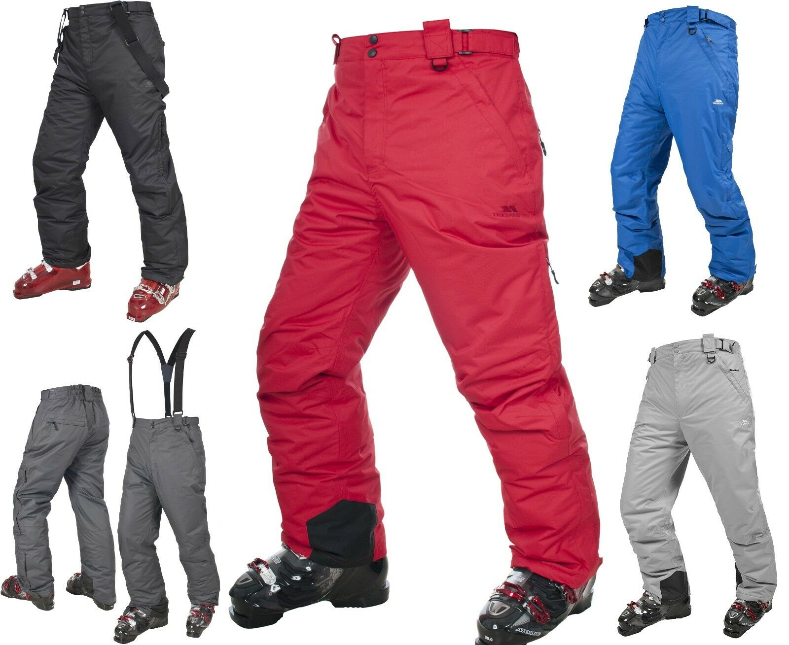 TRESPASS MEN'S BEZZY PredEKT LT INSULATED WATERPROOF 5000MM SKI  SNOW PANT  all goods are specials