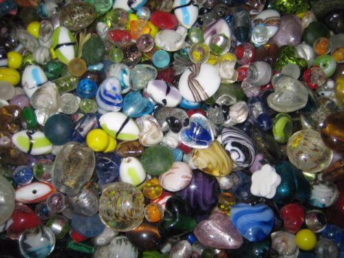 Cuentas de vidrio Mix//perlas Mix 500g colorido Murano abalorios//lámina de plata más colorido Mix