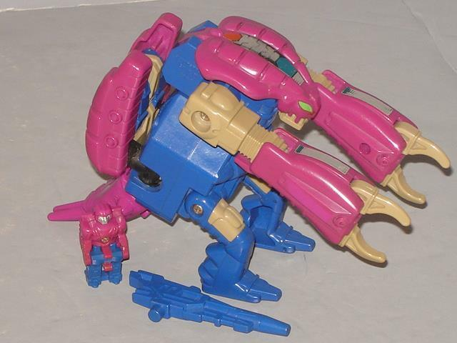 """G1 TRANSFORMER HEADMASTER SQUEEZEPLAY COMPLETE  LOTS OF PICS PROF CLEANED"""""""
