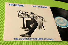 RICHARD STRANGE LP LIVE RISE 1°ST ORIG USA 1980 NM !!!!!!!!!!!!!!!!!!!!!!!!!!