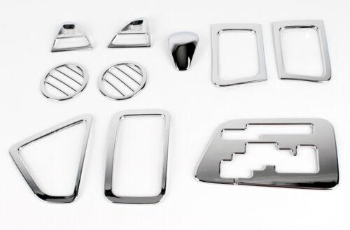 Zubehör für KIA Picanto 2011-2016 Chrom Rahmen Set Innenraumset Interior Tuning
