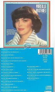 MIREILLE-MATHIEU-les-plus-grands-succes-volume-2-CD-ALBUM-1970-1975