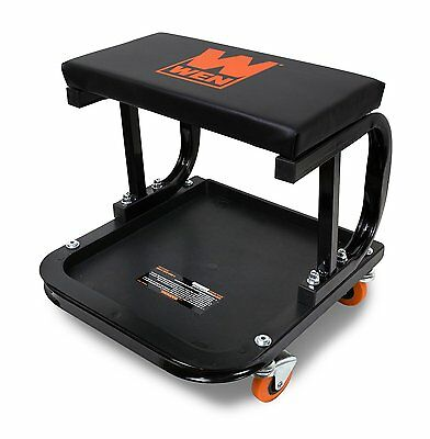 Wen 73011 250 Pound Capacity Rolling Mechanic Seat With