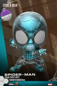 Hot-Toys-COSBABY-Marvel-Spider-Man-Mini-PVC-Figure-COSB621-Fear-Battle-Suit-Toy