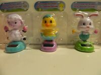 Solar Dancing Lamb, Bunny And Chick In Packs