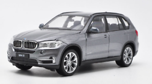 Welly-1-24-BMW-X5-Grey-Diecast-Model-Car-Vehicle-New-in-Box