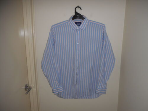 Used Glo Weave Men's Long Sleeve Shirt Size 44