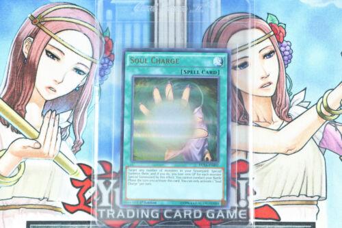 Yugioh Spell Card Soul Charge DUSA-EN092 1st Ed Ultra Rare
