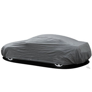 2 Layer Fitted Waterproof Car Cover Free Storage Bag & Cable OEM TM® Brand Name
