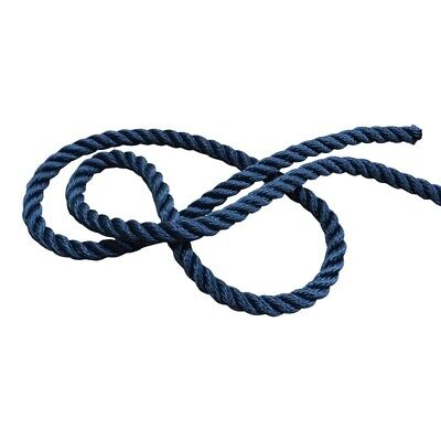Yachts//Canal 14mm Pack of 2 Warps Mooring Ropes Spliced Rope Lines 10mm
