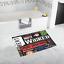 New Bathroom Rug Custom Broadway Musical Collage Non Slip Bathmat Floor Bath Rug