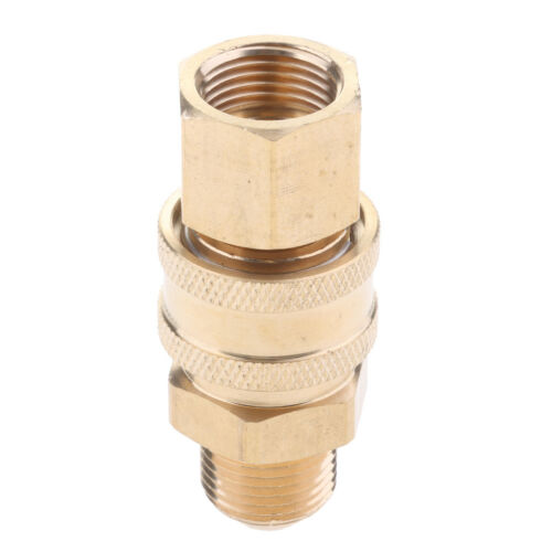 Garden Hose Quick Connector Water Hoses Release No-Leaks Pressure Washer M18