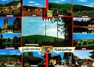 Grüße aus dem Fichtelgebirge , Ansichtskarte, 1976 gelaufen - Rostock, Deutschland - Grüße aus dem Fichtelgebirge , Ansichtskarte, 1976 gelaufen - Rostock, Deutschland