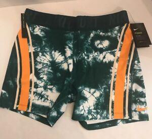 cortos Orange Nwt Pantalones Power Aa3033 Sz para impresos Nike Xl Rainforest Peel 886551359015 mujer RpdpSwx