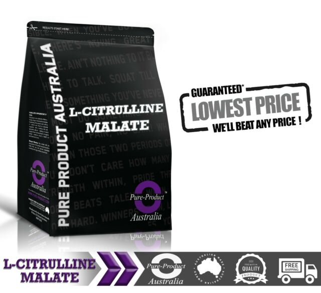 PURE L-CITRULLINE MALATE POWDER 1KG | PREMIUM QUALITY AMINO ACID | INTRA PUMP