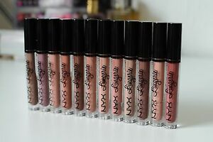 NYX-Lip-Lingerie-Liquid-Matte-Lipstick-New-and-Sealed-Choose-Your-Color