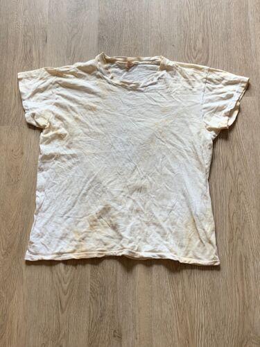 Vintage 1960's Blank Hanes Tee T-shirt