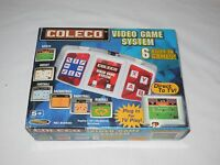 2005 COLECO VIDEO GAME SYSTEM 6 Built-in Games SPORTS GAMES PLUG & PLAY  #60400
