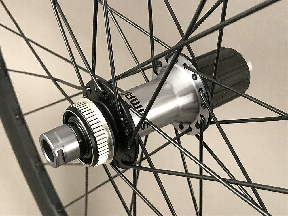 Image 4 - Vision-Trimax-Gravel-CX-Bike-Wheelset-Shimano-Ultegra-Hubs-12mm-Thru-Disc-Brake
