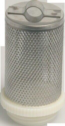 Edelstahl Filterkorb mit Öse (genietet) Aussengewinde