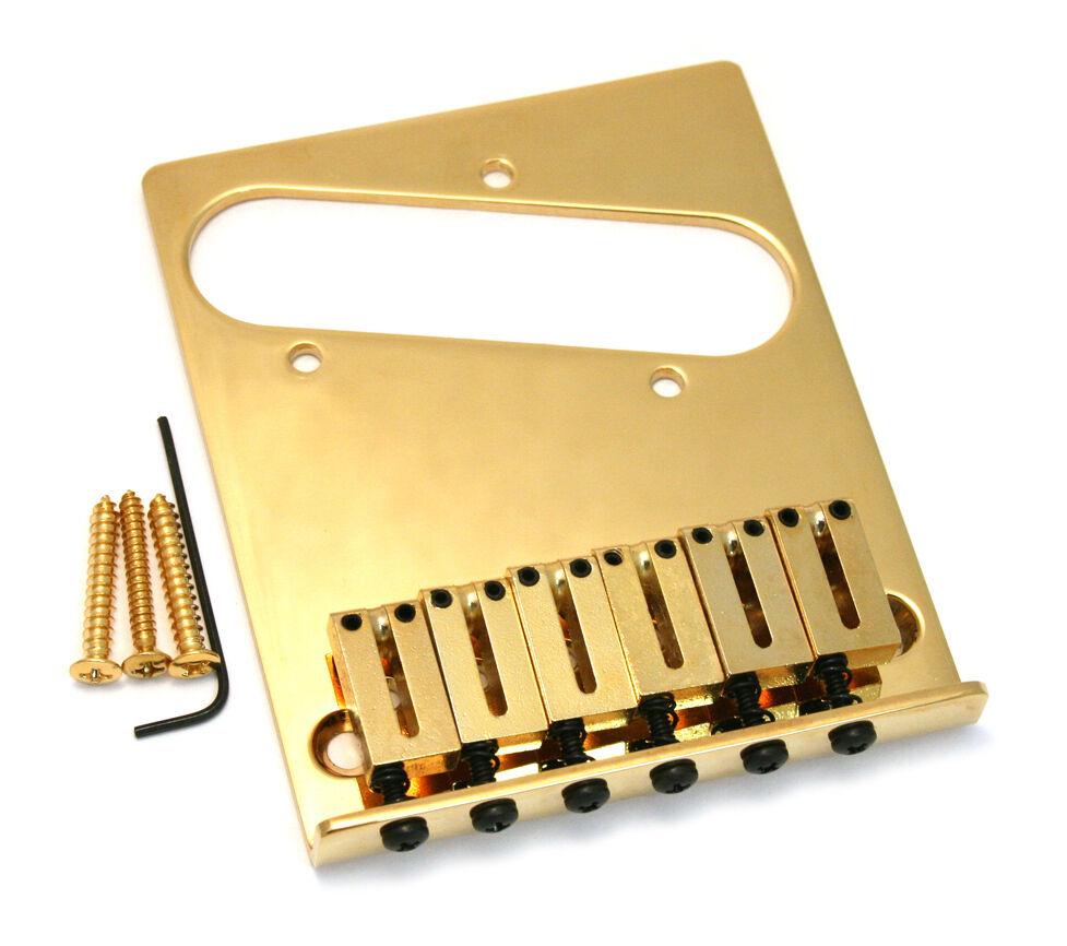 Genuine Fender Gold American Series Offset Telecaster Tele Bridge 099-0807-200