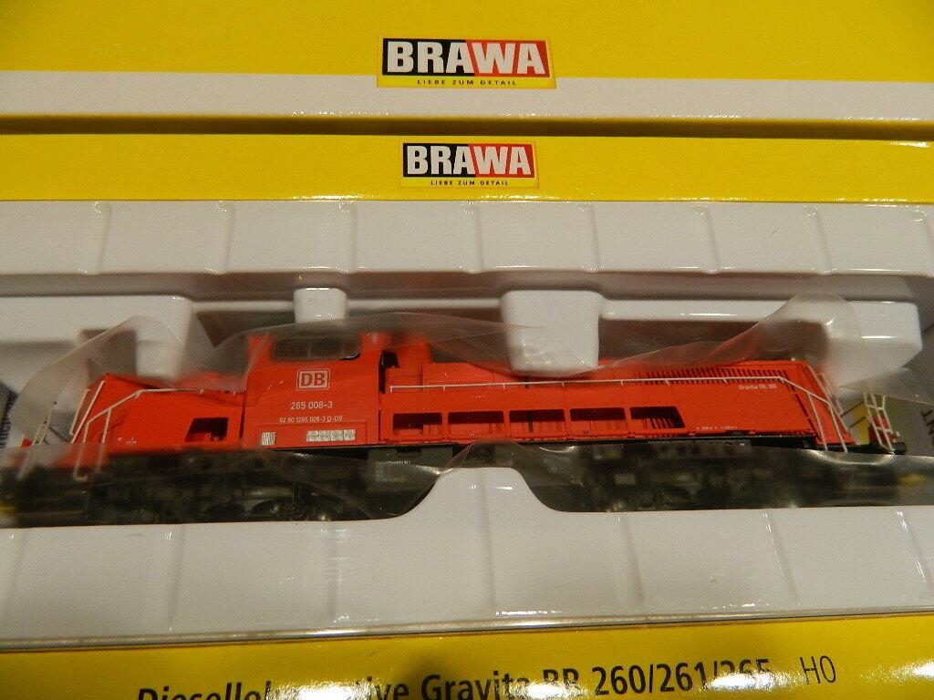 Brawa 42707 Gravita rot BR 206 261 265 NEU dig. mit Sound
