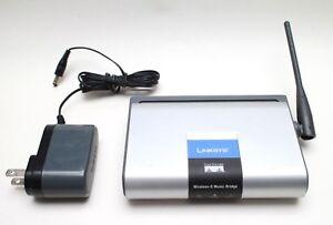 Linksys-Cisco-WMB54G-Wireless-G-Music-Bridge-Adapter