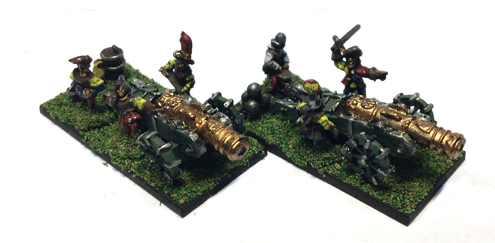 Warmaster - Empire Mortar - 10mm - Painted
