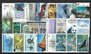 AAT-AUSTRALIAN-ANTARCTIC-TERRITORY-Collection-Packet-of-25-Different-Stamps-Used