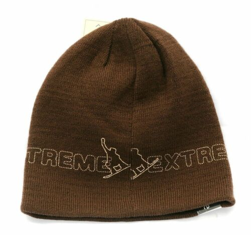 Snowboarding Reversable Beanie Hat Ideal Gift For Rider Trainer CLEARANCE