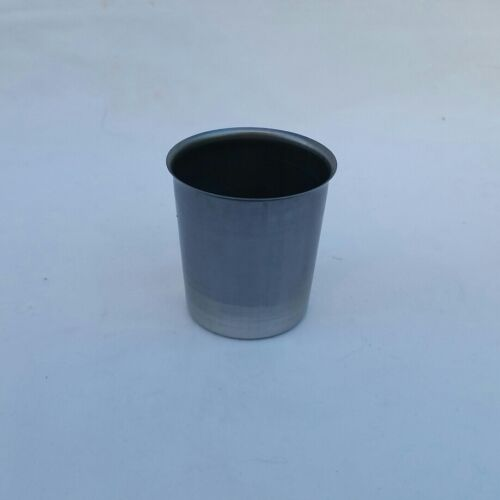 10 ROUND METAL VOTIVE MOLDS NEW SEAMLESS CANDLE CANDLES
