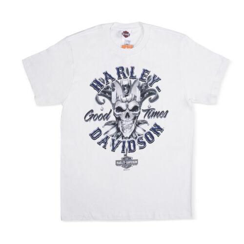 Harley-Davidson T-Shirt Biker Short Sleeve Men Woman Tel Aviv Israel White