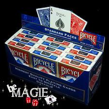 Jeu Bicycle Standard  X12 - Cartouche - Tour de Magie - Poker